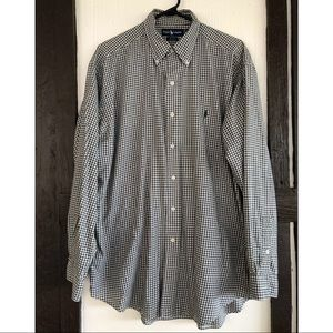 Ralph Lauren Blake Button Down Plaid Shirt LSleeve